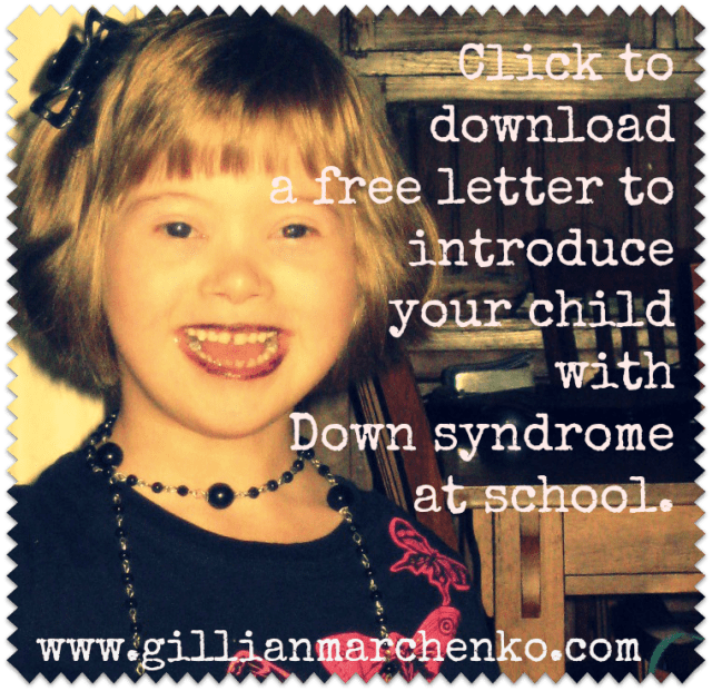 Introducing Children With Down Syndrome In The Classroom