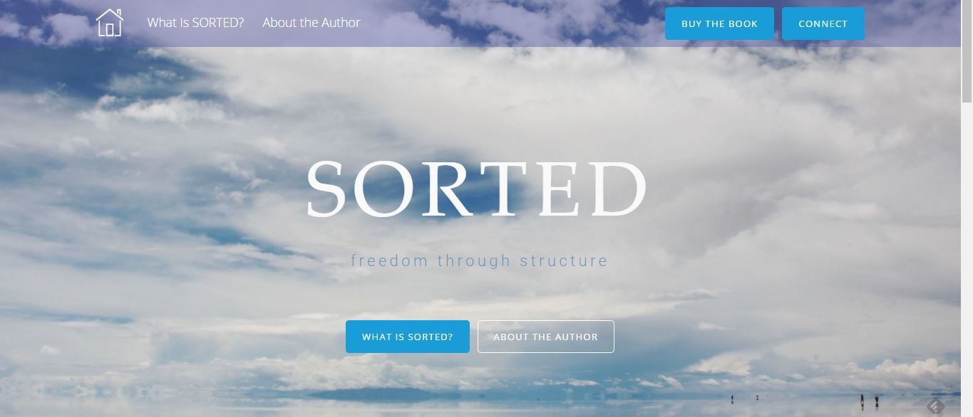 sorted homepage screenshot