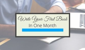 Write Your First Book In One Month Gillian Perkisn