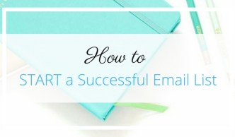 How to START a Successful Email List - Gillian Perkins