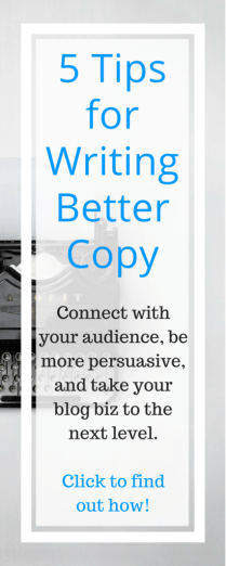 5 Tips for Writing Better Copy Pinterest