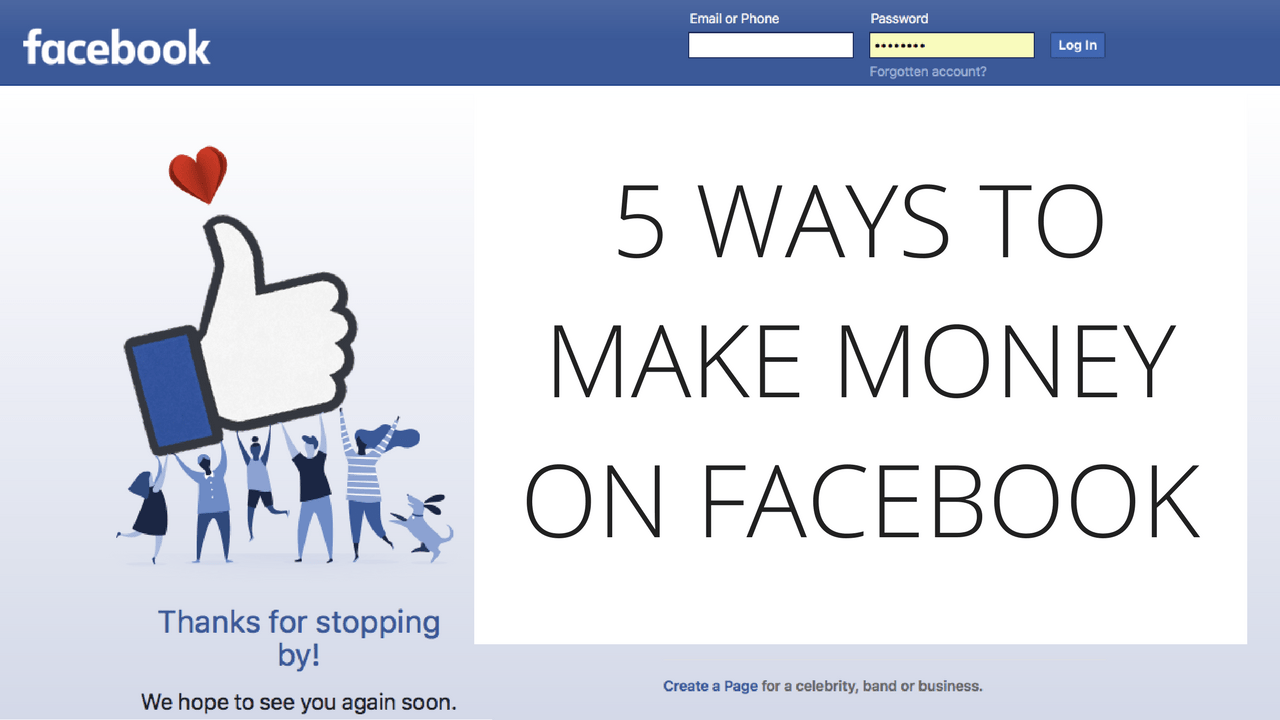 Who Can Make Money With Facebook?