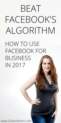 How to beat Facebook's algorithm and effectively USE it to get clients.