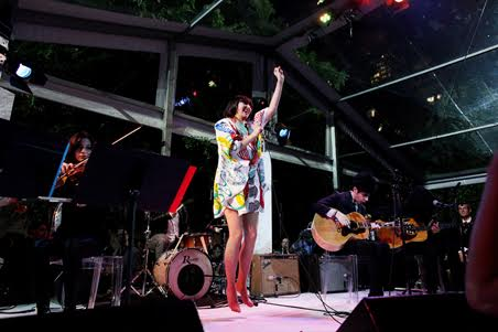 THE YEAH YEAH YEAHS LIVE AT MOMA IN NYC
