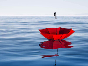 Umbrella floating on water | FedRAMP