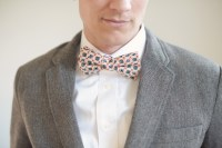 Mens vintage style bow ties, Mens bow ties, Salmon bow