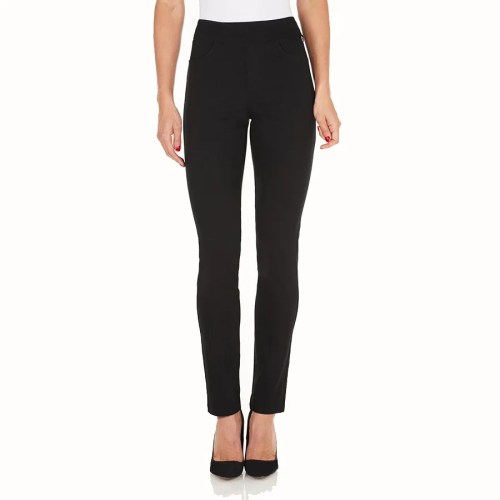 FDJ Black Pull On Trousers Style 2805210.