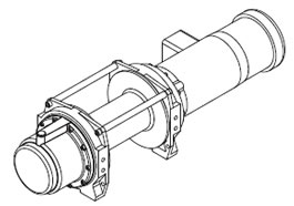 HF Series AC Electric Hoists, Powered Winches, Power Winch