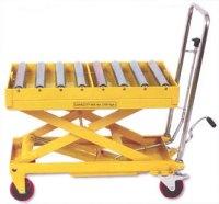 Scissor Roller Top Table, Long Deck Scissors Truck ...
