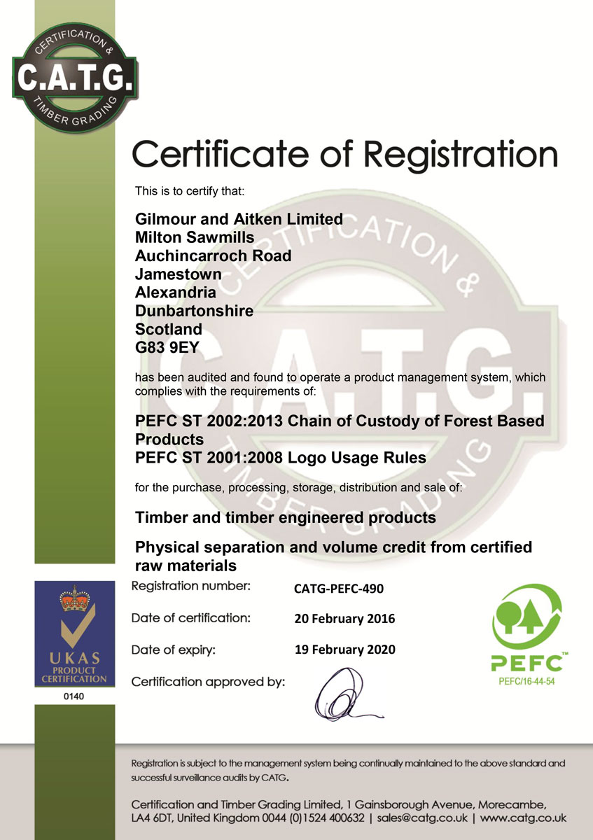Pefc (the programme for the endorsement of forest certification) is an international organisation with the main focus of endorsing national. Pefc Accreditation Gilmour Aitken