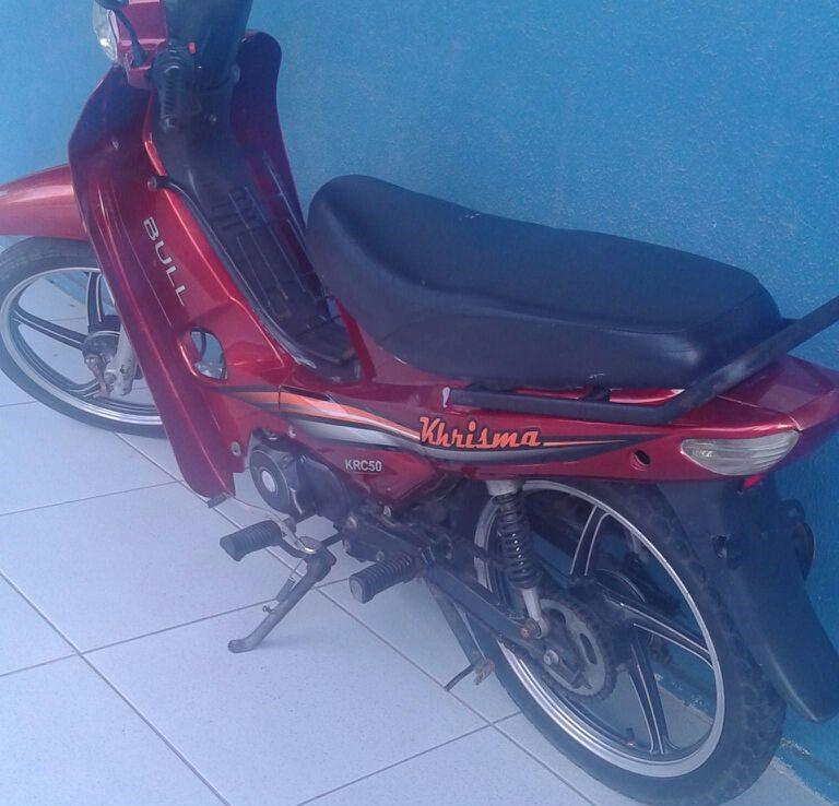 ciclomotor roubada Itabaiana Sergipe