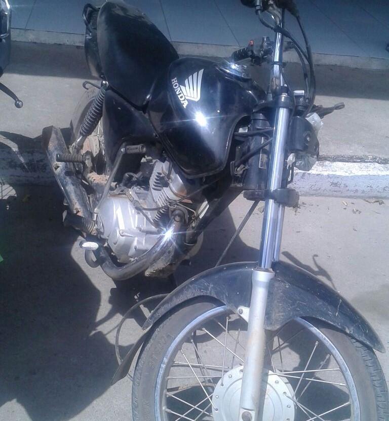 motocicleta roubada Itabaiana Sergipe