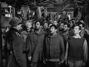Stalag 17 infamous Heil Hitler scene with Otto Preminger as Colonel von Scherbach