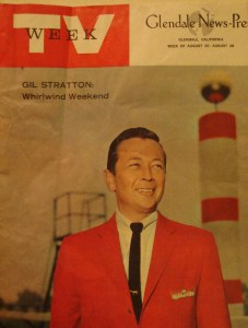 Gil Stratton gets a cover picture in the Glendale New Press TV Week Guide in the 1960s