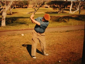 Gil golfed for most of his entire life. in addition to a favorite Harding Municipal Golf Course in Griffith Park, he also was a member of Crystalaire Country Club.