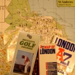 Gil love the adventure of travel... and GOLF in England... of course. And a stop to Great Britain had to include a visit to St. Andrews Golf Course.