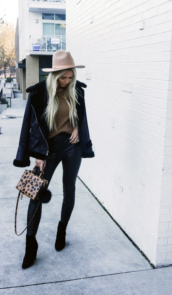 HOW TO WEAR: FAUX SHEARLING JACKET.