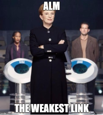 weakest