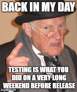 TestingAllTheTime
