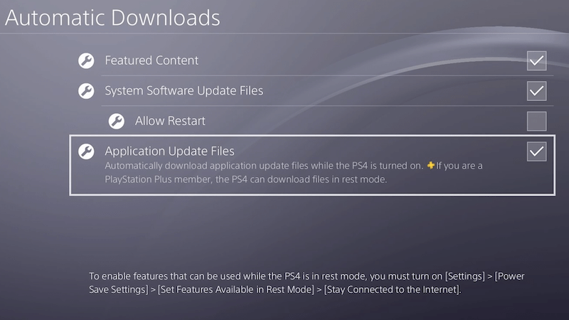 keuntungan playstation plus - auto update