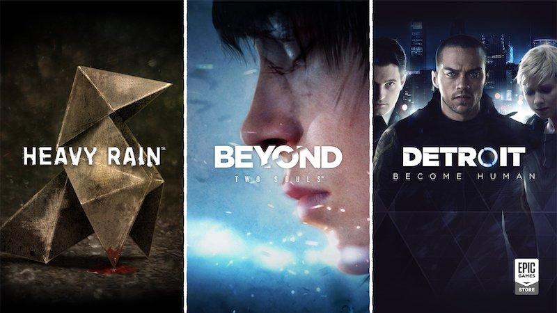 Heavy Rain, Detroit, dan Beyond Two Souls Hadir di PC via Epic Games Store - Featured