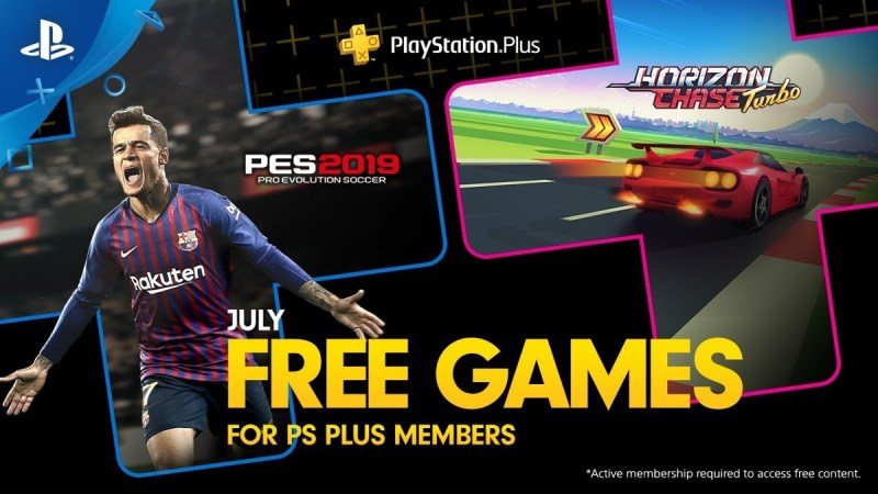 PS Plus July 2019 - Featured