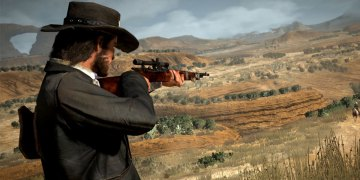 rifle red dead online