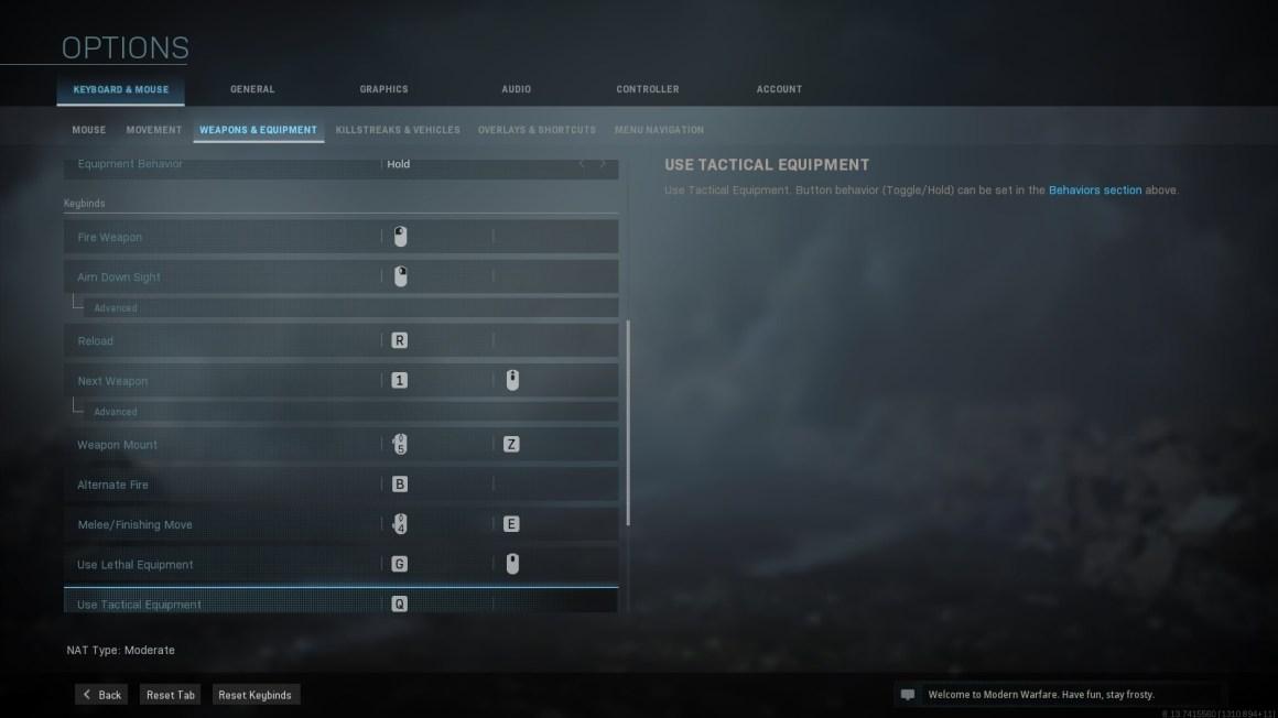 option weapon