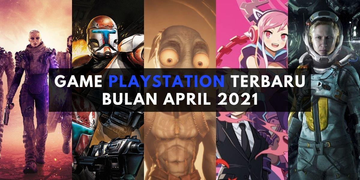 game playstation terbaru bulan april 2021