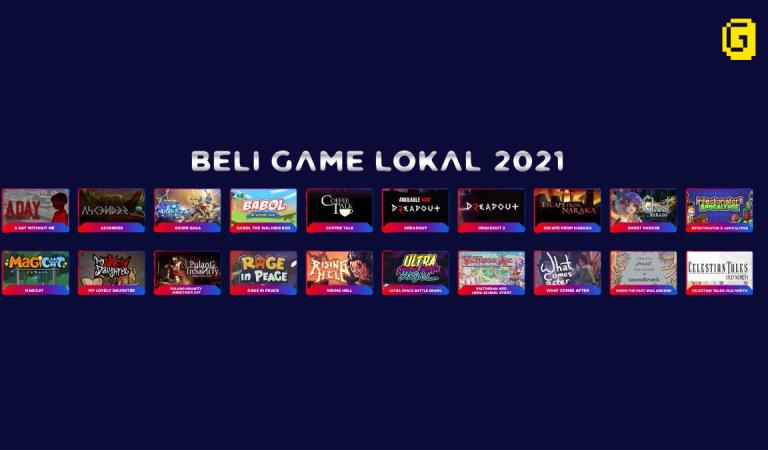 Diskon 20 Game Lokal di Hari Game Indonesia!
