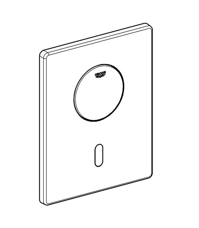 Recambio y accesorio sanitario Grohe Tectron Skate escudo