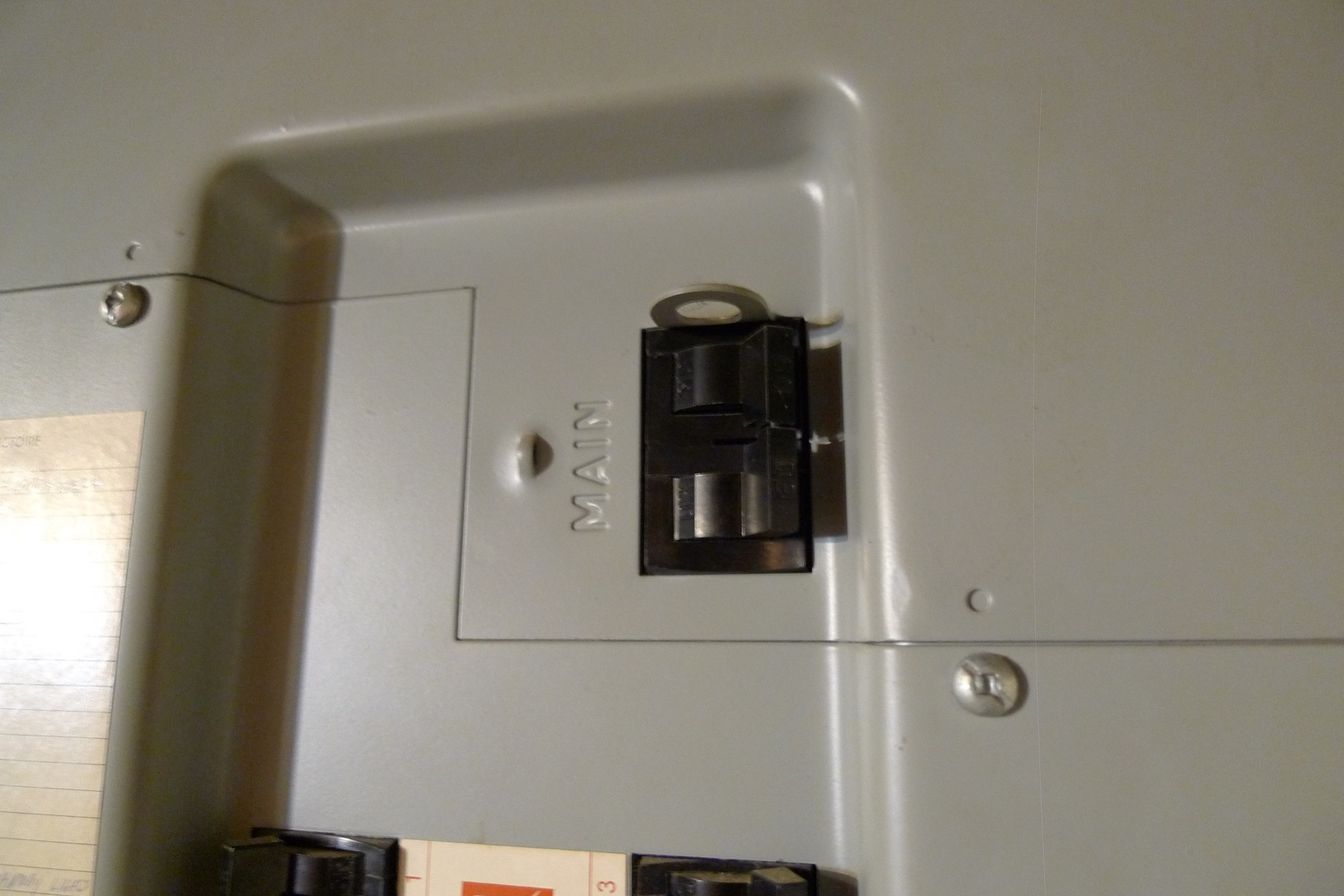 hight resolution of 60 amp breaker in a townhouse in ekota an electrical panel