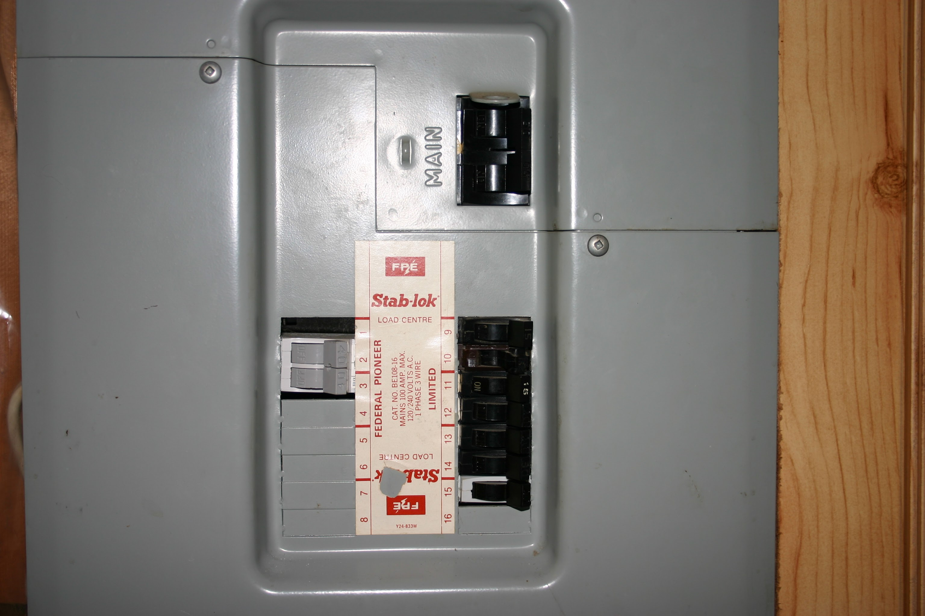 Breaker Box Fuse Wiring Library Electric Panel Boxes Upgrading To