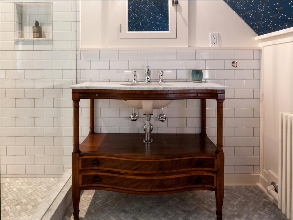 Some Upcycled And One Of A Kind Bathroom Vanities Diy Arts And Crafts