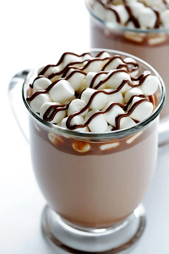 Nutella Hot Chocolate -- made delicious and easy with just 2 ingredients! | gimmesomeoven.com
