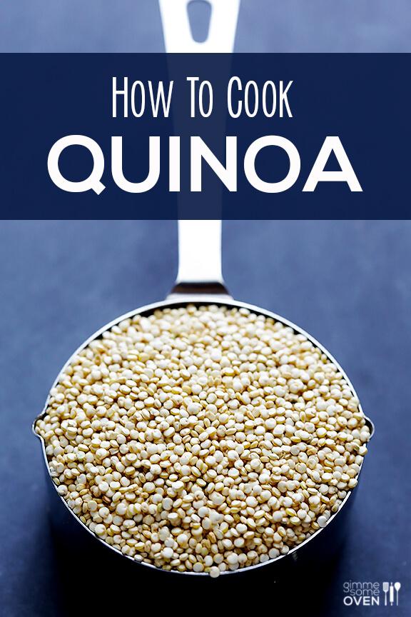 How To Cook Quinoa   gimmesomeoven.com