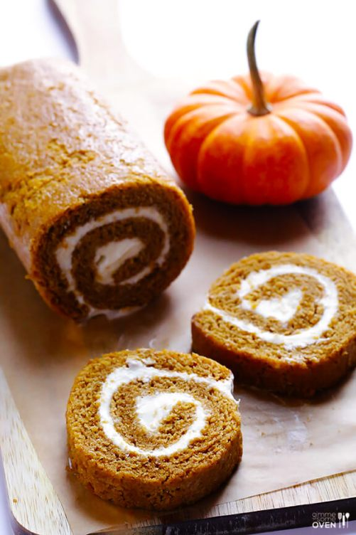 Homemade Pumpkin Roll