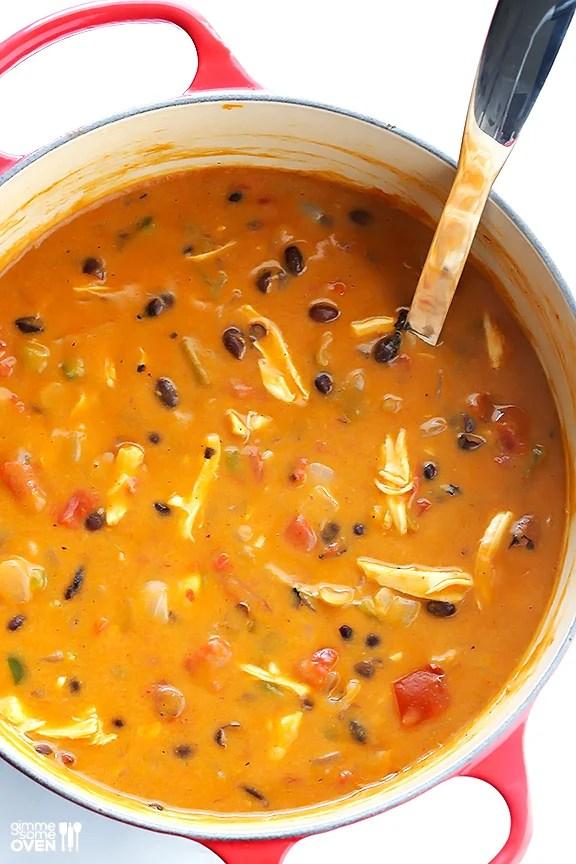 chilis chicken enchilada soup recipe 20 minute cheesy chicken