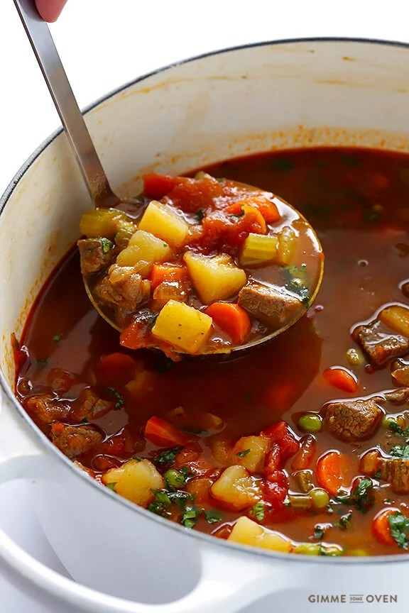 vegetable beef stew with v8