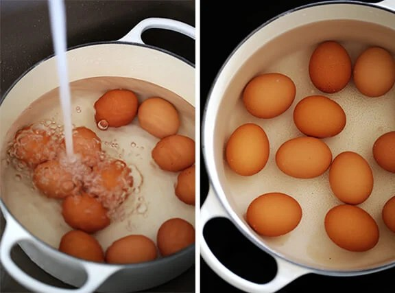 how to make hard boiled eggs video