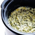 slow cocker spinach artichoke dip recipe - Idaho Gal Review