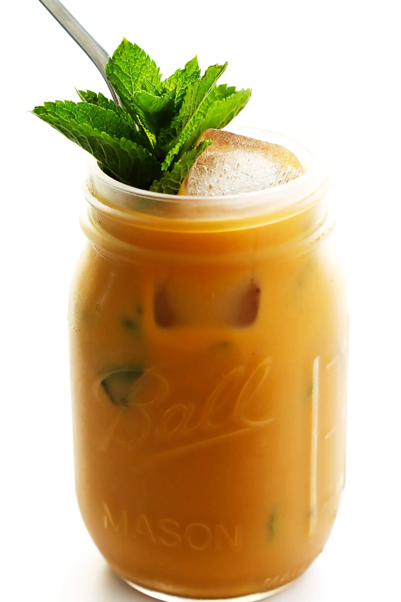 Mint Mojito Iced Coffee Gimme Some Oven