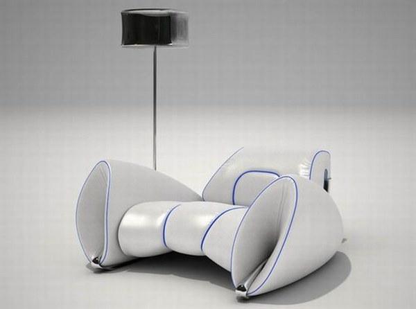 R15 een aerodynamische luxe stoel  Gimmii Dutch Design