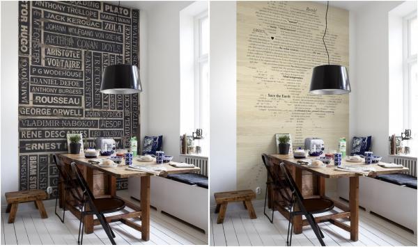 Een heuse bibliotheek op je behang  Gimmii Shop  Magazine voor Dutch Design