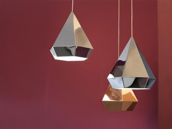 Diamond lamp van Sebastian Scherer  Gimmii Dutch Design