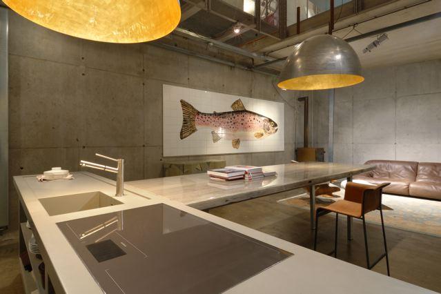 Boter of tegels en een keuken bij de vis  Gimmii Dutch Design