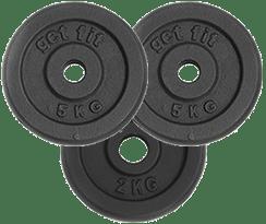 discos 12 kilogramos para barra