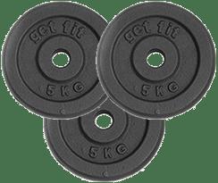 peso discos 15 kilogramos