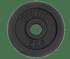 peso disco 2 kilogramos
