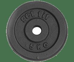 disco de 5 kilogramos para barra